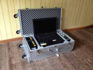 計測機器収納用アルミケース