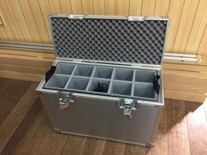 アルミケースの内箱